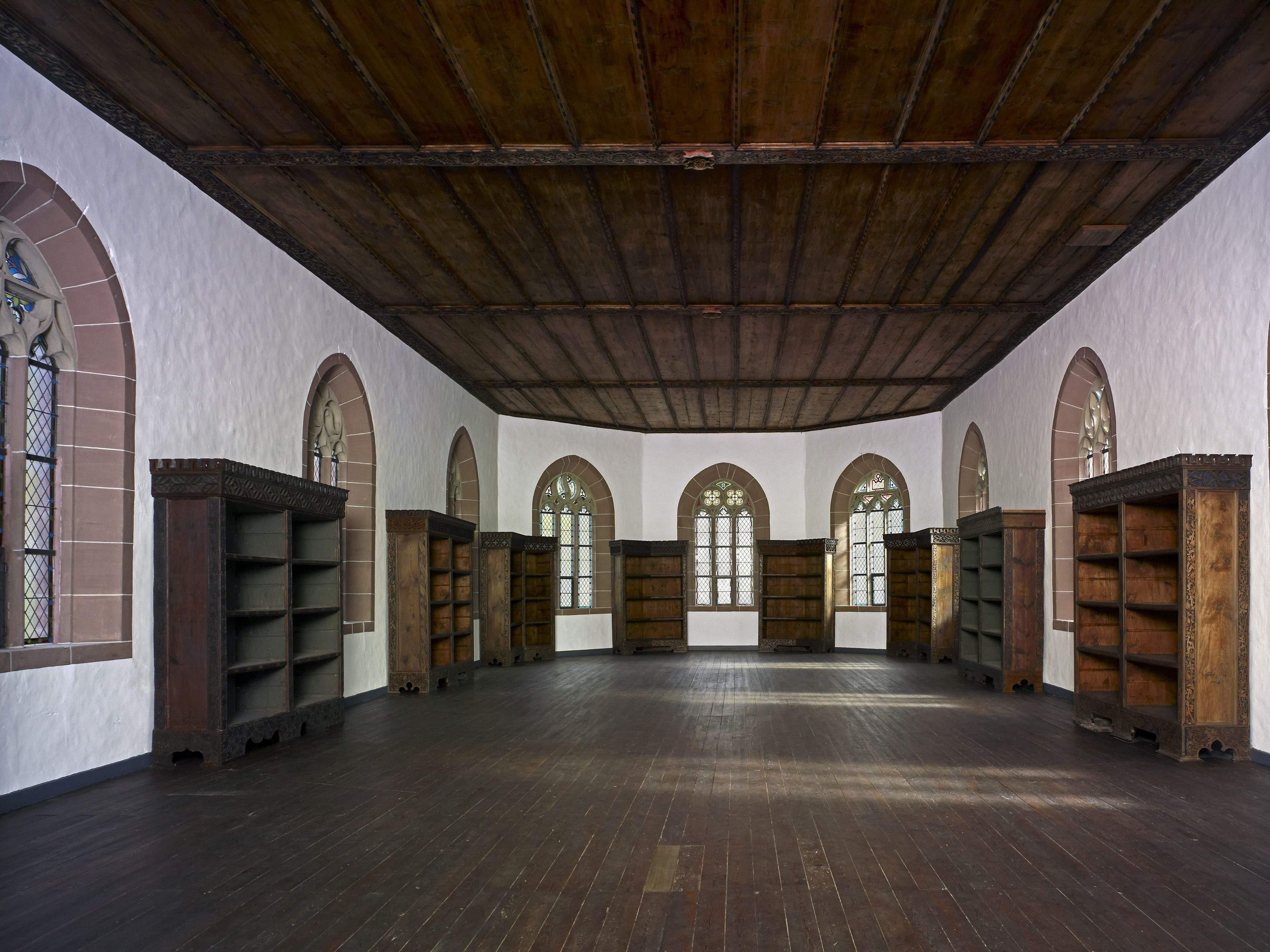 Bibliothekssaal; Foto: Staatliche Schlösser und Gärten Baden-Württemberg, Arnim Weischer
