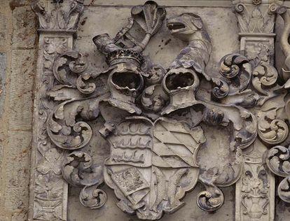 Coat of arms for the Duchy of Württemberg at the Old Castle Stuttgart. Image: Staatliche Schlösser und Gärten Baden-Württemberg, Steffen Hauswirth