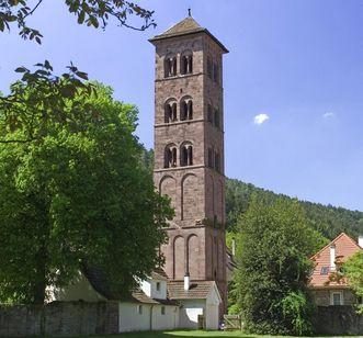 Owl Tower at Hirsau Monastery. Image: Staatliche Schlösser und Gärten Baden-Württemberg, Andrea Rachele