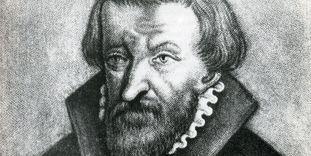 Portrait of Johannes Karg, second Protestant abbot of Hirsau Monastery