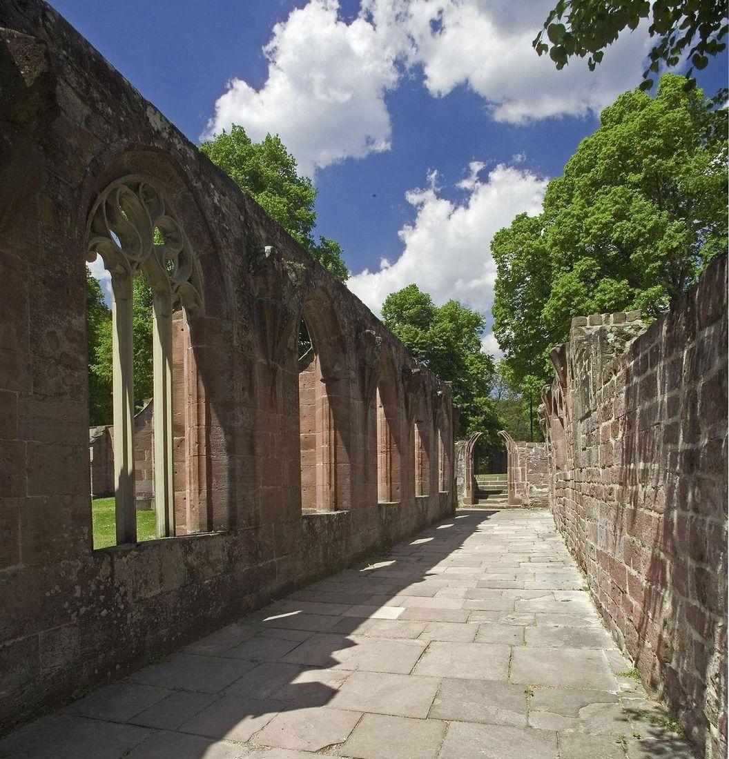 Hirsau Monastery, ruins of the cloister