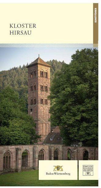 """Titel des Kunstführers """"Kloster Hirsau""""; Gestaltung: Staatliche Schlösser und Gärten Baden-Württemberg, JUNG: Kommunikation GmbH"""