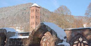 Südliche Klausur und Eulenturm von Kloster Hirsau