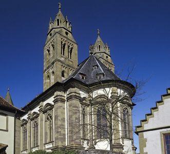 Stiftskirche von Kloster Großcomburg; Foto: Staatliche Schlösser und Gärten Baden-Württemberg, Arnim Weischer
