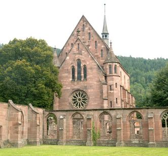 Exterior of the Chapel of St. Mary at Hirsau Monastery. Image: Calw Tourist Information