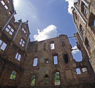 Ruinen des Jagdschlosses von Kloster Hirsau