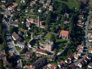 Kloster Hirsau von oben