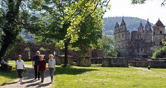 Abbaye de Hirsau; l'image: Staatliche Schlösser und Gärten Baden-Württemberg, Andrea Rachele