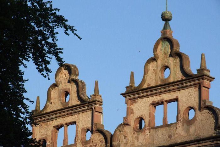 Giebel des Jagdschlosses von Kloster Hirsau