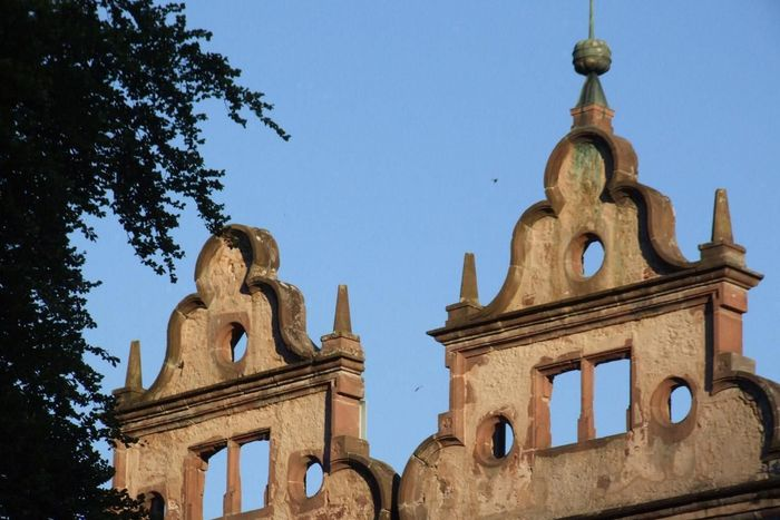 Gables on the hunting lodge at Hirsau Monastery
