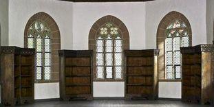 Der ehemalige Bibliothekssaal im Obergeschoss der Marienkapelle von Kloster Hirsau
