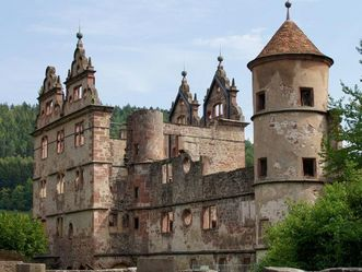 Hunting lodge at Hirsau Monastery. Image: Calw Tourist Information
