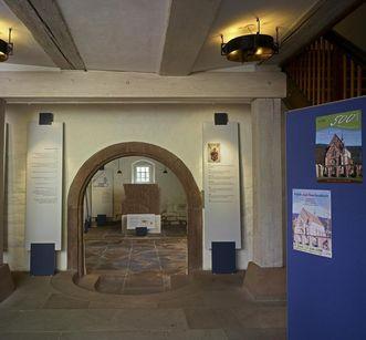 Interior of the monastery museum at Hirsau Monastery. Image: Staatliche Schlösser und Gärten Baden-Württemberg, Andrea Rachele