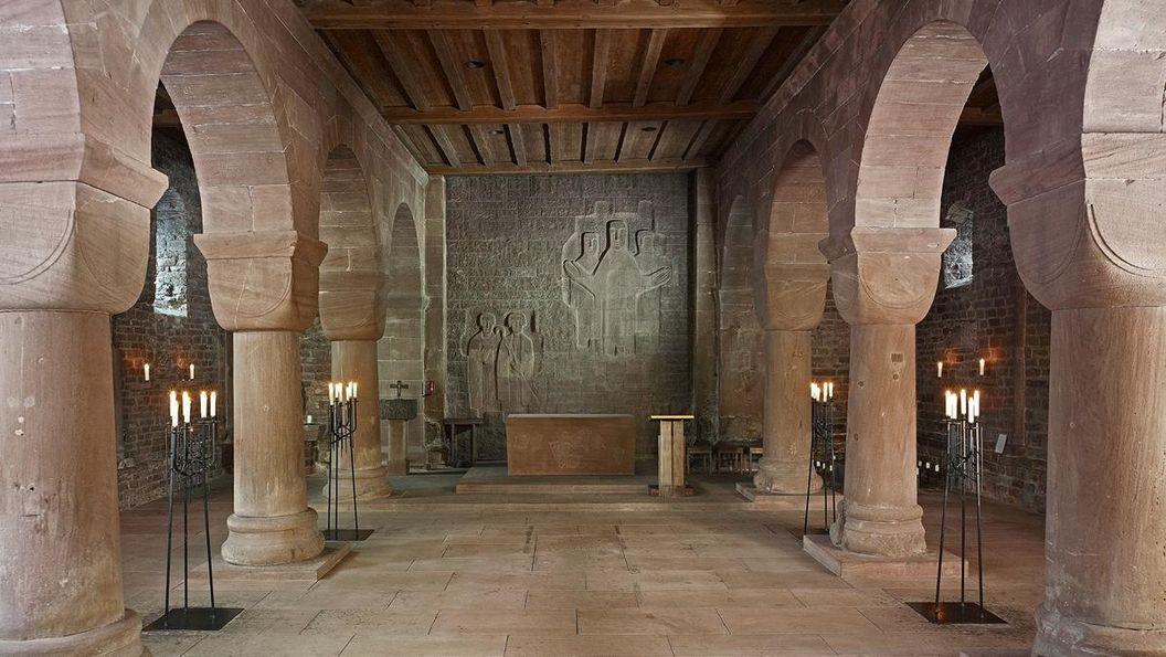 Innenraum der Klosterkirche St. Aurelius von Kloster Hirsau