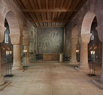 Innenansicht der Klosterkirche St. Aurelius von Kloster Hirsau; Foto: Staatliche Schlösser und Gärten Baden-Württemberg, Arnim Weischer