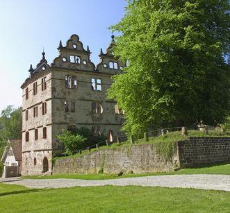 Hunting lodge at Hirsau Monastery. Image: Staatliche Schlösser und Gärten Baden-Württemberg, Andrea Rachele