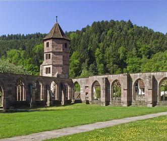 Ruins of the St. Peter and Paul Monastery in Hirsau. Image: Staatliche Schlösser und Gärten Baden-Württemberg, Andrea Rachele