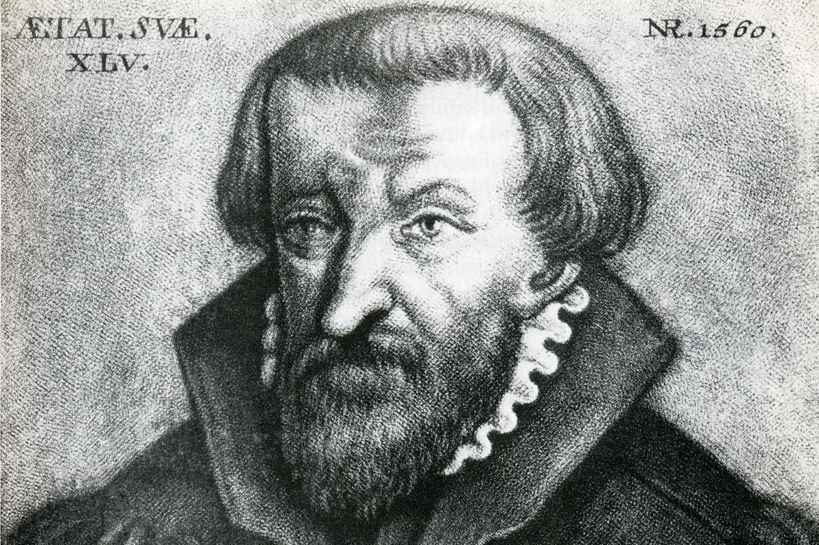 Bildnis Johannes Karg, zweiter evangelischer Abt von Kloster Hirsau