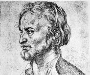 Portrait of Philipp Melanchthon, pen and ink drawing by Albrecht Dürer, 1526