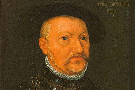Bildnis Herzog Ulrichs von Württemberg, Ölgemälde von unbekanntem Künstler